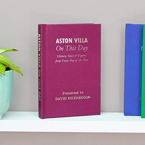 Signature gifts Personalised Aston Villa On This Day Book