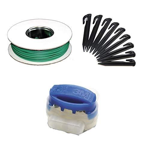 Genisys Reparaturset XL+ kompatibel mit AL-KO Robolinho ® 110 1000 1100 Kabel Haken Verbinder Reparatur