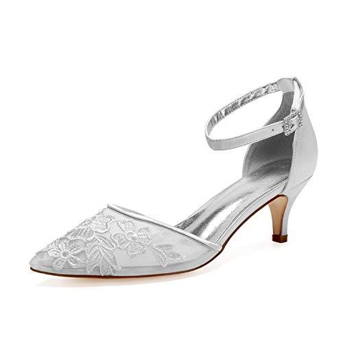 Plataforma Nupcial Tacones Altos Zapatos De Boda Zapatos De Novia De Mujer...