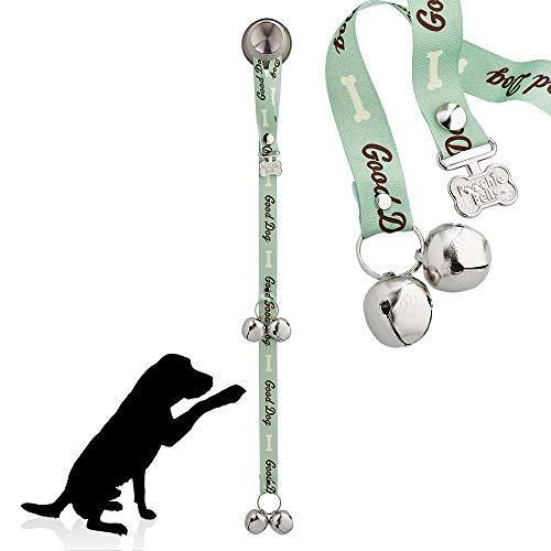 Poochie Bells Good Dog Green Gassitraining, Hunde Türklingel, Stubenrein Machen