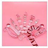 forocean 2021 Nouvelle Combinaison De Luxe bonbons De Noël mignon cadeau sceptre magique cristal verre Sforocean 2020 Nouveaux Jouets