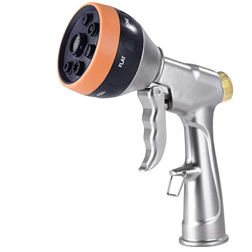 Hose Nozzles Metal Garden Hose Nozzle Heavy Duty Hose Sprayer Nozzle D5