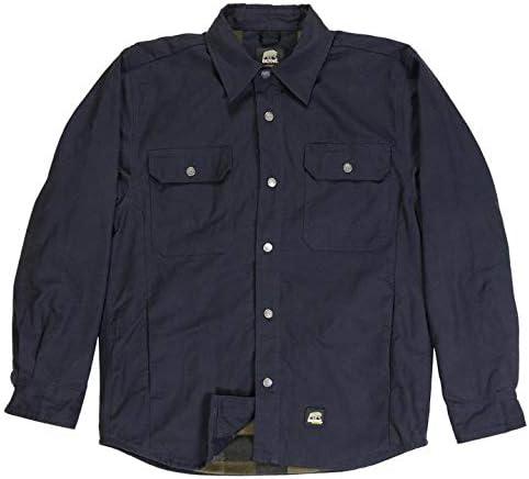 Berne Men's Caster Baltimore Mall Sale price Flannel Shirt Jacket Lined