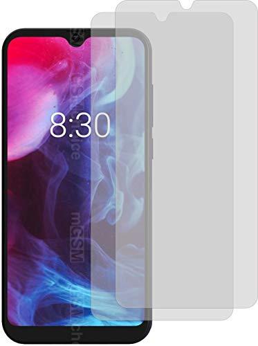 4ProTec I 2X Crystal Clear klar Schutzfolie für Archos Oxygen 57 Bildschirmschutzfolie Displayschutzfolie Schutzhülle Bildschirmschutz Bildschirmfolie Folie