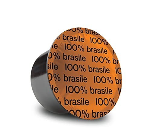 Bristot 100% Brasilian Capsules compatible with Lavazza Blue* Machines   50 Count