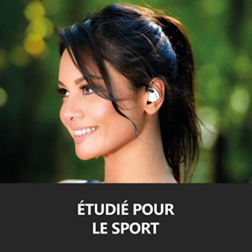 Divacore Blueskull, Ecouteurs sans Fil Sport aptX HD, Noir