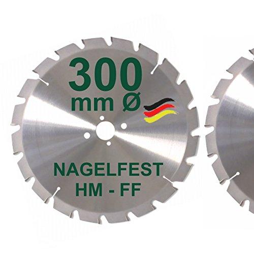 HM Sägeblatt 300 x 30 mm NAGELFEST FF...