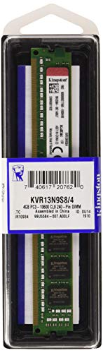 Kingston KVR13N9S8/4 - Memoria RAM de 4 GB (PC3-10600, 240 p