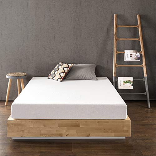 Best Price Mattress 8 Inch Memory Foam Mattress, Calming Green Tea Infusion, Pressure Relieving, Bed-in-a-Box, CertiPUR-US Certified, Full