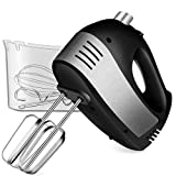 REDMOND Hand Mixer Electric, 5-Speed Hand Mixer with Turbo Handheld Kitchen Mixer Includes