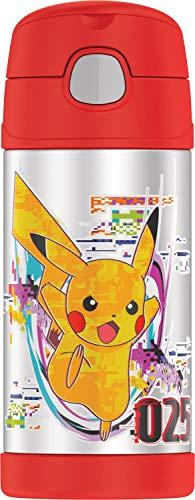 Thermos F4016VI6 Funtainer Trinkflasche, 340 ml, Violett Pokemon