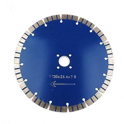 outingStarcase Diamante Disco de Corte, Sierra de Diamante Hoja de 230x 2,8 x 25,4 mm for baldosas de hormigón Pizarra de mármol de Granito y Discos de Corte de mampostería Herramientas industriales