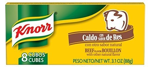 Knorr Bouillon Cube Hsp Beef, 8