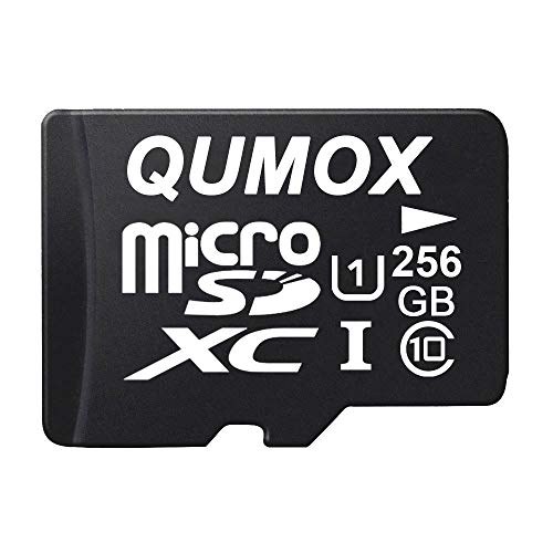QUMOX 256GB Micro SD Memory Card Class 10 UHS-I 256 GB