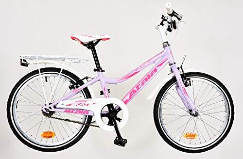Atala Bicicletta da Bambina Skate Girl 2020 Colore Lilla/Fuxia 1V 20'