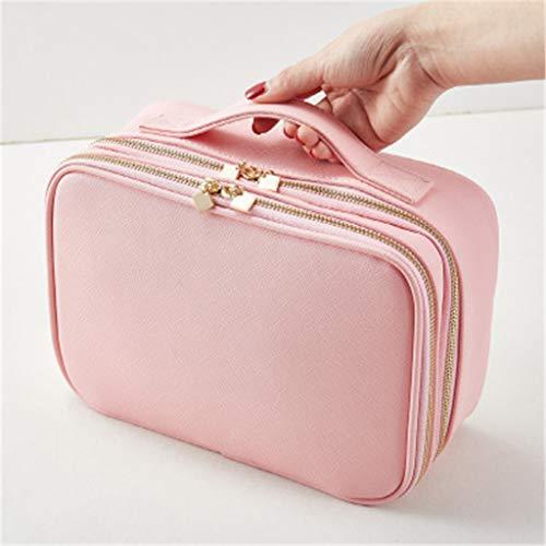 Designs Großen Make Up Bag, Fall professionelle wasserdichte Rosa Big Travel Cosmetic Taschen und...