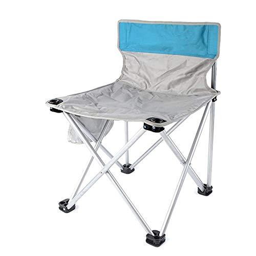 Wangjiang Strandstoel, opvouwbaar, draagbaar, visstoel, rugleuning, stoel, picknick grill, rugleuning, visstoel