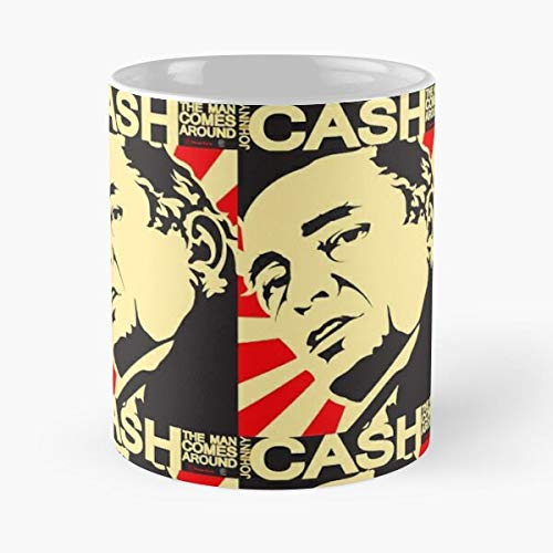 Music Tour Concert Museum Lyrics Songs Cash Johnny Albums Best 11 oz Kaffeebecher - Nespresso Tassen Kaffee Motive