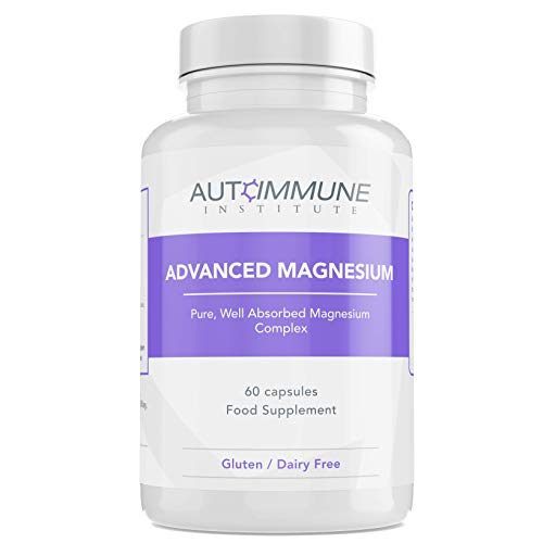 Advanced Magnesium Complex Capsules. Pure Blend of Magnesium Malate, Glycinate, L-Threonate, Taurate, and Orotate. Made in The UK. Well Absorbed. Gluten Free. 60 Capsules. Vegan.