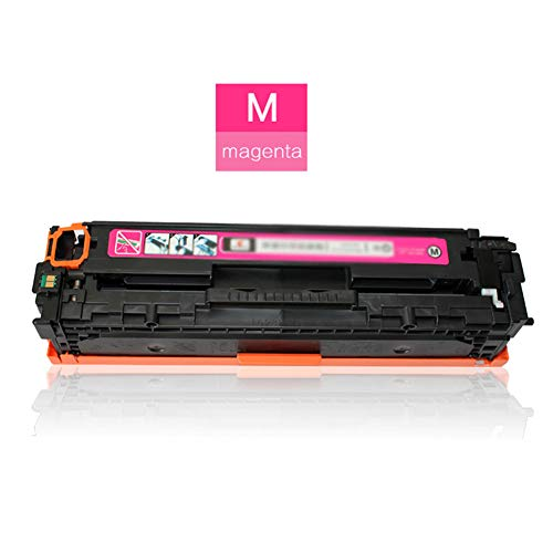 TIANCHAO CF410X CF411X CF412X CF413X Reemplazo de Cartucho de tóner Compatible, para HP Color Laserjet Pro M452dw / M452nw / M452dn / M477fnw / MFP M477fdw Polvo fácil de Agregar/con Chip-Magenta