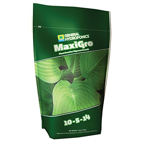 General Hydroponics GH1211 MaxiGro Plant Food For Vigorous Growth, 2.2 lb, Green