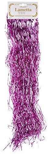 OmniReselling - Espumillón (50 cm), Color Rosa