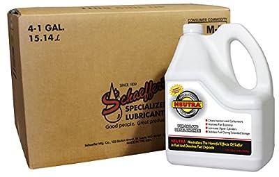 Schaeffer Manufacturing Co. 0131-004 Neutra Fuel Stabilizer, 1 gal (Pack of 4)