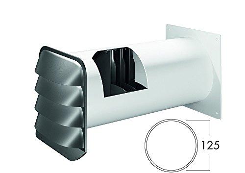 NABER E-Jal Col® 125 Mauerkasten THERMOBOX/Wärmerückhaltesystem/Edelstahl / Ø125mm (4022046)