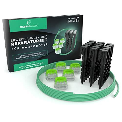 RASENWERK® set de reparación de cable perimetral para robo