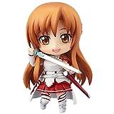 MOGCA Sword Art Online Yuki Asuna Yuuki Asuna Figuras De Anime Versión GK Q Figura De Acción De Nendoroid Articulaciones Móviles Juego De Dibujos Animados Estatua De Personajes Adornos De Modelos