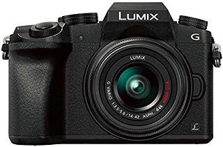 Panasonic LUMIX G DMC-G7K with 14-42mm Lens, 16MP, 4K Mirrorless Camera-Black