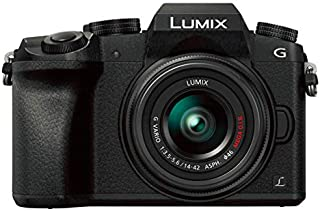 Panasonic LUMIX G DMC-G7K, 14-42mm, 16MP, Mirrorless Camera, Black