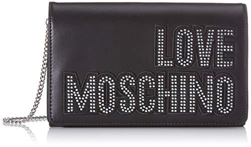 Love Moschino Jc4091pp1a, Borsa a Mano Donna, Argento (Argento Nero),...