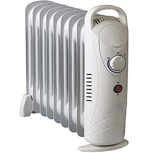 Elektrische Heizung 1000W Ölradiator Heizgerät mit Frostwächter Thermosteuerung Konvektor Heizer Radiator Elektroheizung zum zuheizen von Badezimmer, Schlafzimmer sowie Wohnräumen