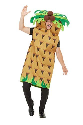 Smiffys 47139 Palmenkostüm, Erwachsene, grün, Einheitsgröße