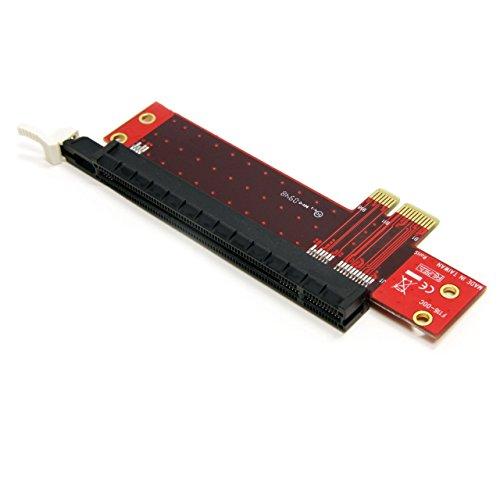 StarTech.com PCI Express x1 auf x16 Extender Adapter - PCIe Riser Verlängerung Karte