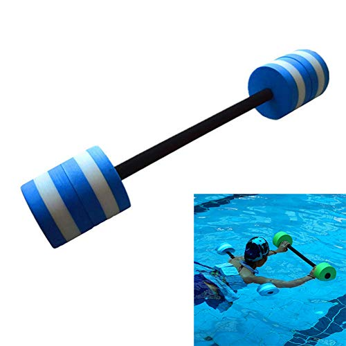 Check Out This Panow Water Aquatic Fitness Swim Bar with Padded Grip, Aquatic Barbell Aerobics Dumbb...