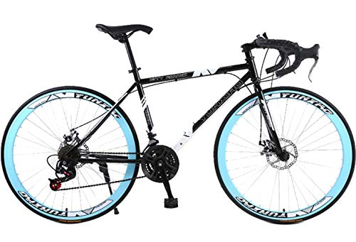 Mountain Bike 21 Speed Steel Frame 26 Inches 40 Spoke Wheels Dual Suspension Bike, Men's Womens Soft Mountain Bike