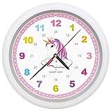 reloj unicornio pared