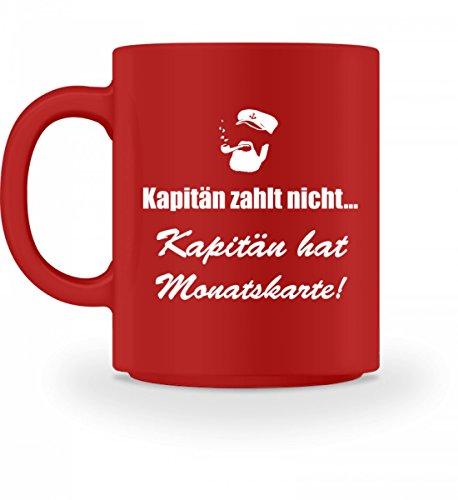 Nukular Hochwertige Tasse - Kapitän hat Monatskarte