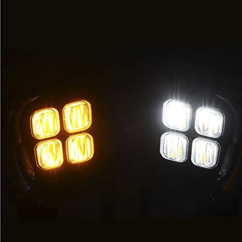 Gorgeri Daytime Running Light DC12V 6000-6700K LED Daytime Running Light DRL Fit for Kia PICANTO 18-20
