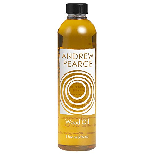 Andrew Pearce Premium Walnut Wood Oil Bowl Conditioner 8oz - Wooden Bowl and Cutting Board Oil