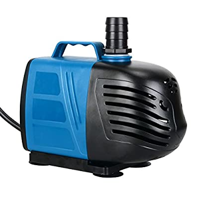 Uniclife 1000 GPH Submersible Water Pump for Pond Pool Fountain Aquarium Fish Tank