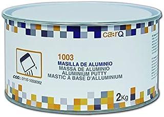 caarQ Masilla Aluminio 2Kg + Catalizador