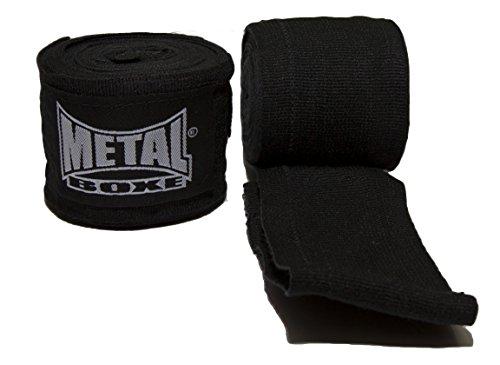 Metal Boxe Bande d'entrainement Noir 4 m