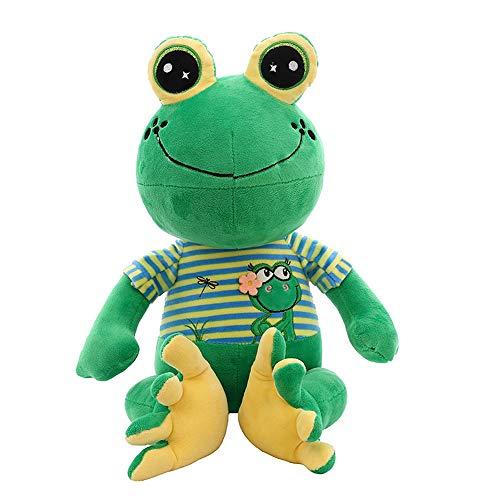 HJHJK Kawaii Plüsch Froschpuppe Große Kuscheltiere Riesige Hocker Tiere Spielzeug Puppe Riesige Kuscheltier Spielzeug Für Kinder Big Eye Froschkissen (Size : 75cm)