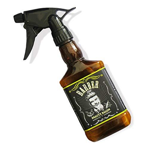 bibididi Botella pulverizadora de Agua vacía, Tienda en casa, peluquería, peluquería, salón Profesional, Herramienta de contenedor de Vino, Tapa de Corcho para Botella de Almacenamiento