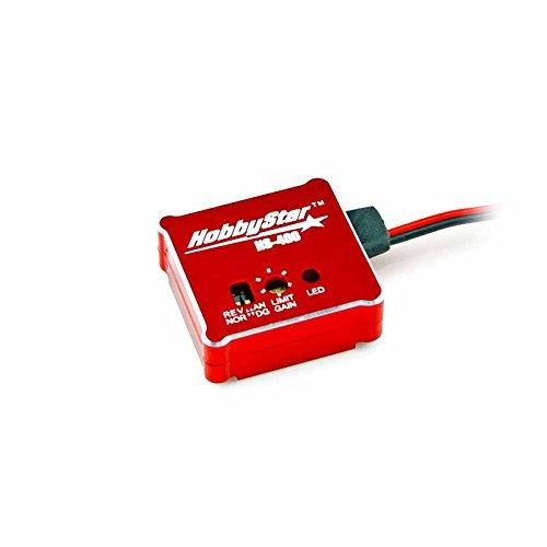HobbyStar Automatic Stability Control Gyro For RC Car, Drift Assist, Red