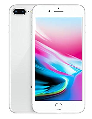 Apple iPhone 8 Plus, 256GB, Silver - For AT&T / T-Mobile (Renewed)
