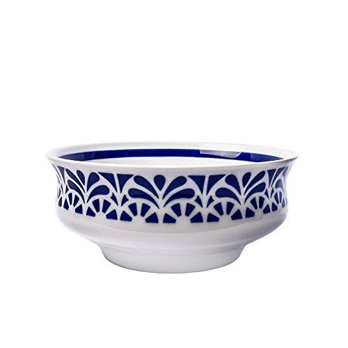 Sargadelos Ensaladera Galerías 1, Porcelana, Blanco, 25 cm